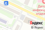 Схема проезда до компании Макси в Барнауле