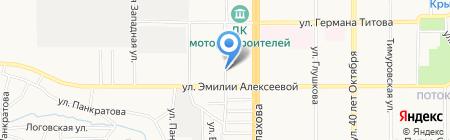 Центр оформления купли-продажи автомобилей и страхования на карте Барнаула