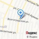 Продовольственный магазин на карте Барнаула