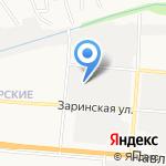 Молоток на карте Барнаула