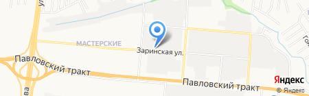 Ваш вектор на карте Барнаула