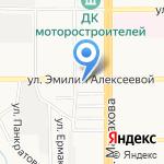 Агентство страховых услуг на карте Барнаула