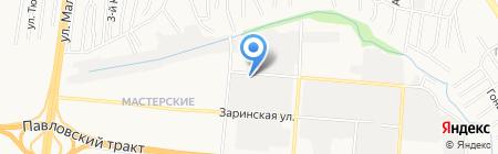 АВТО ДОР СПАС на карте Барнаула