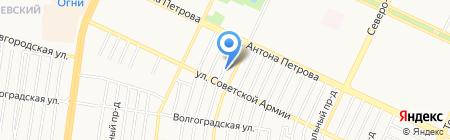 Русская банька на карте Барнаула