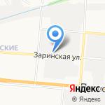 ААА Авеню Строй на карте Барнаула