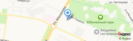 Фарма на карте Барнаула