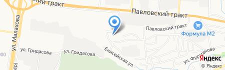 ГК-392 на карте Барнаула