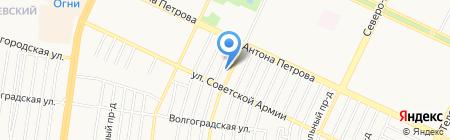 Алтайская похоронная служба на карте Барнаула