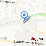 Ратник на карте Барнаула