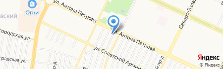 Класс на карте Барнаула