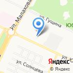Городская больница №12 на карте Барнаула