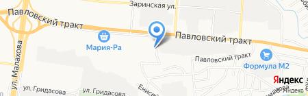 Алтайэнергожилстрой на карте Барнаула