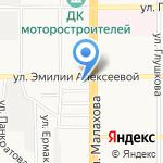 Свято-Вознесенская церковь на карте Барнаула