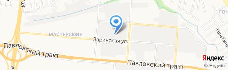 Интех на карте Барнаула