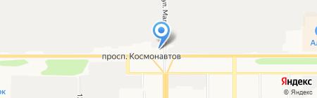 К2 на карте Барнаула