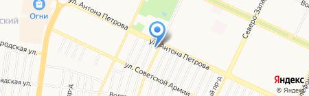 Цимус на карте Барнаула
