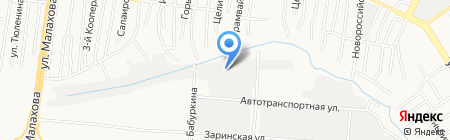 Аником на карте Барнаула