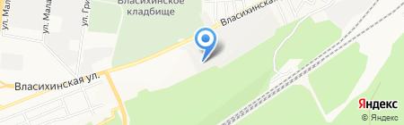 Альянс на карте Барнаула
