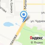 Авто-Отдых на карте Барнаула