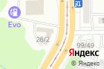 Схема проезда до компании Ода в Барнауле