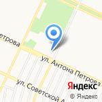 Тренажерный зал на карте Барнаула