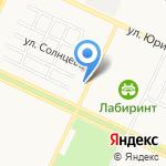 Ленд-Сервис на карте Барнаула