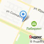 Ray 4х4 на карте Барнаула
