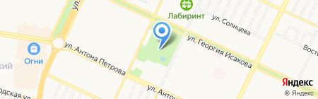 Алтайская Организация Воздухоплавания на карте Барнаула