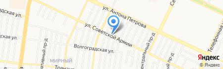 Ритуальный магазин на карте Барнаула
