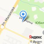 Родильный дом №11 на карте Барнаула