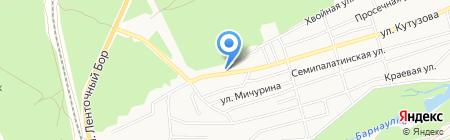STO-R17 на карте Барнаула