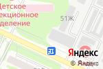 Схема проезда до компании Инжект-Сервис в Барнауле