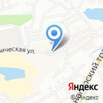 Понаморевский на карте Барнаула