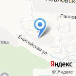 БАС на карте Барнаула