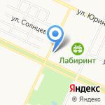 Деос на карте Барнаула
