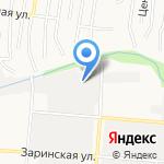 Золотая Сотка Алтая на карте Барнаула