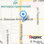 ПЭТ на карте Барнаула