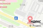 Схема проезда до компании Восток Сибири в Барнауле
