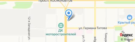 ТЕЛЕГА на карте Барнаула
