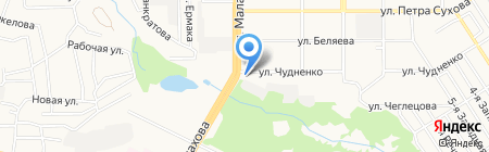 Хмель и Солод на карте Барнаула
