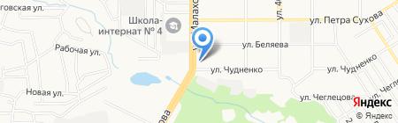 Бия на карте Барнаула