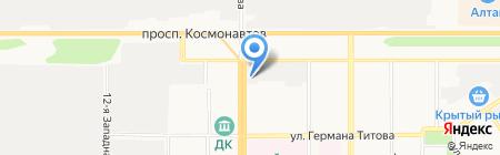 Диспетчерская Служба на карте Барнаула