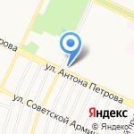 Почтовое отделение №50 на карте Барнаула