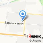 Автомасла на карте Барнаула
