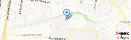 Алтайспецторг на карте Барнаула