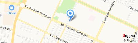 Юридический кабинет Виноградова Р.А. на карте Барнаула