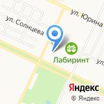Андрющенко на карте Барнаула