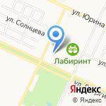 Лада-Мобиль на карте Барнаула