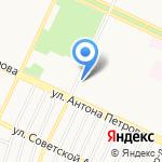 Магазин №41 на карте Барнаула