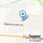 Автостекло22 на карте Барнаула